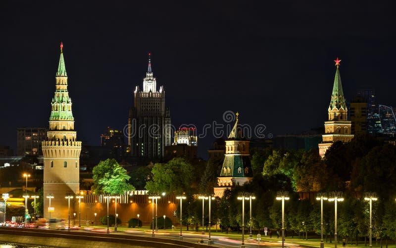Cremlino e ministero degli affari esteri della Russia fotografia stock