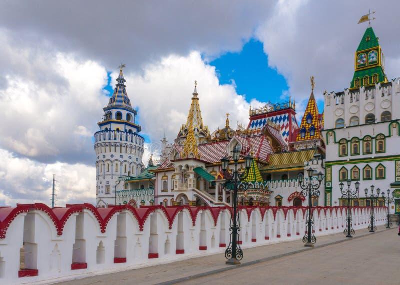 Cremlino a Izmailovo - Mosca fotografia stock