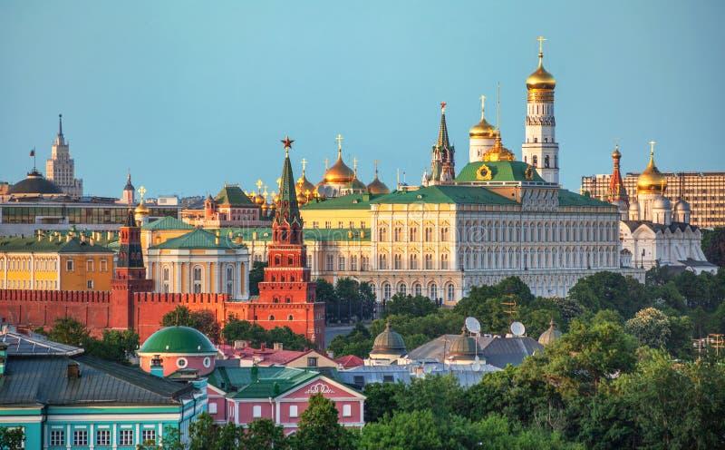 Cremlino - Mosca, quadrato rosso immagine stock libera da diritti
