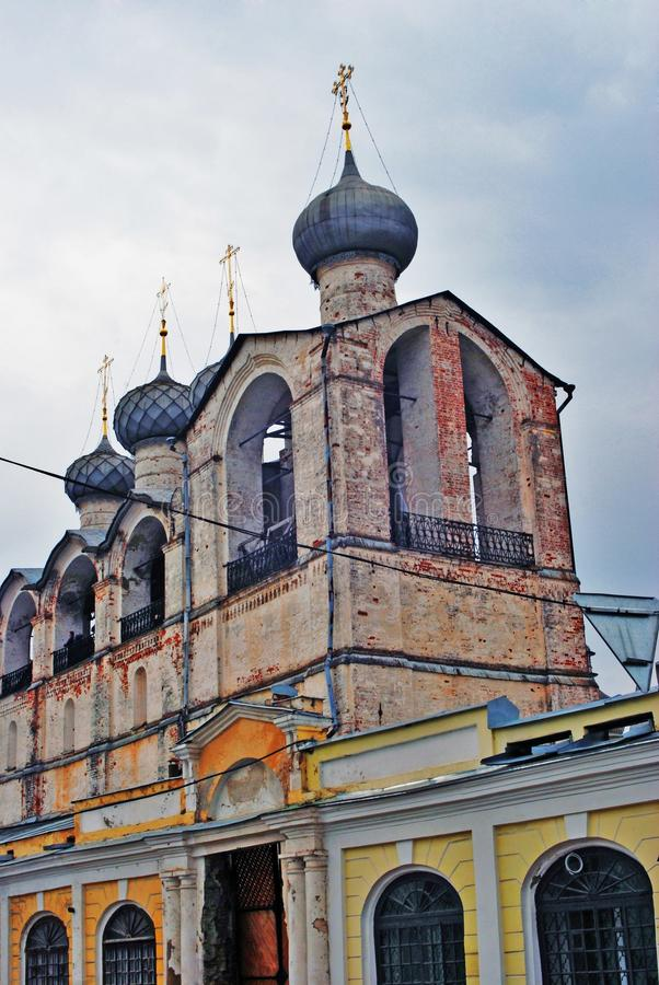 Cremlino in Rostov, Russia fotografia stock libera da diritti