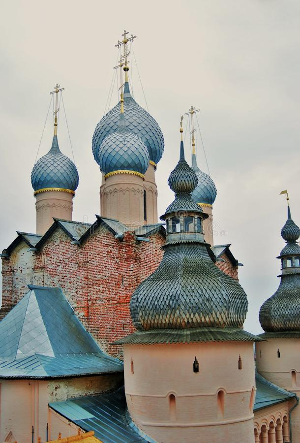 Cremlino in Rostov, Russia fotografia stock