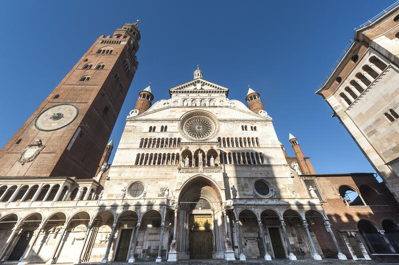 Cremona, Duomo стоковые фото
