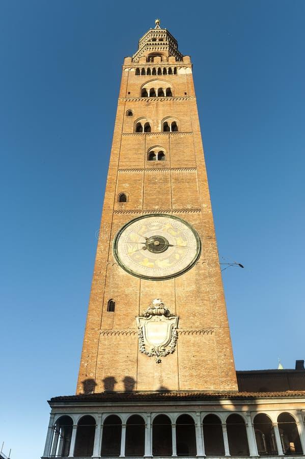 Download Cremona, Duomo Belfry stockbild. Bild von europa, lombardei - 26365517