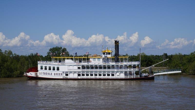 Creol drottning på Mississippi royaltyfria bilder