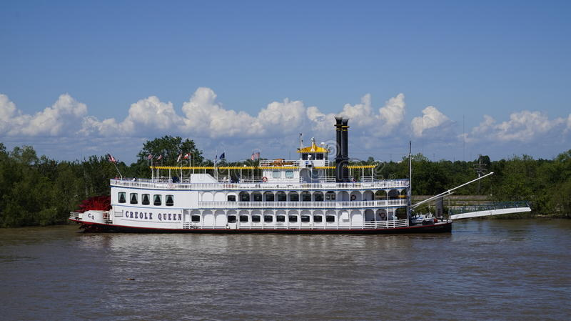 Creol-Königin auf Mississippi lizenzfreie stockbilder