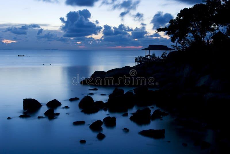 Crepúsculo foto de stock royalty free