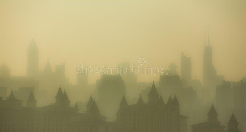 Crepúsculo da cidade imagens de stock royalty free