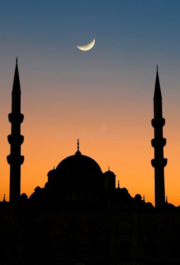 Crepúsculo de Istambul imagens de stock royalty free