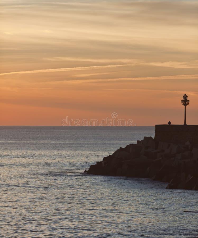 Crepúsculo em Spain 3. fotos de stock