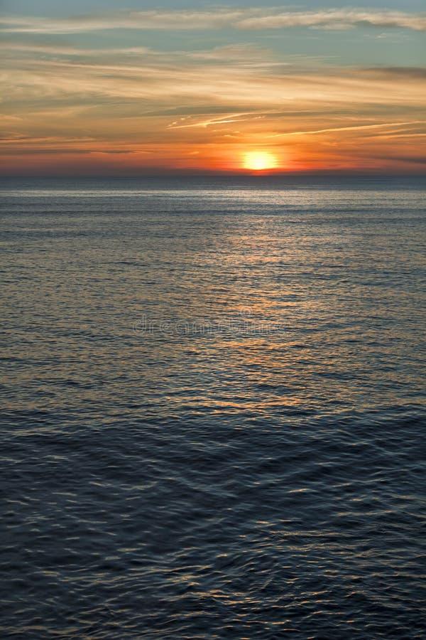 Crepúsculo em Spain 4. imagens de stock