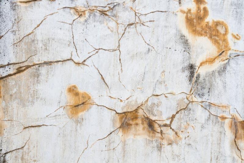 Crepa di stucoo della parete del fondo di lerciume di struttura fotografia stock