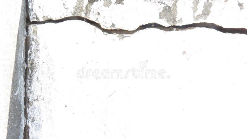 Crepa su una parete immagini stock libere da diritti
