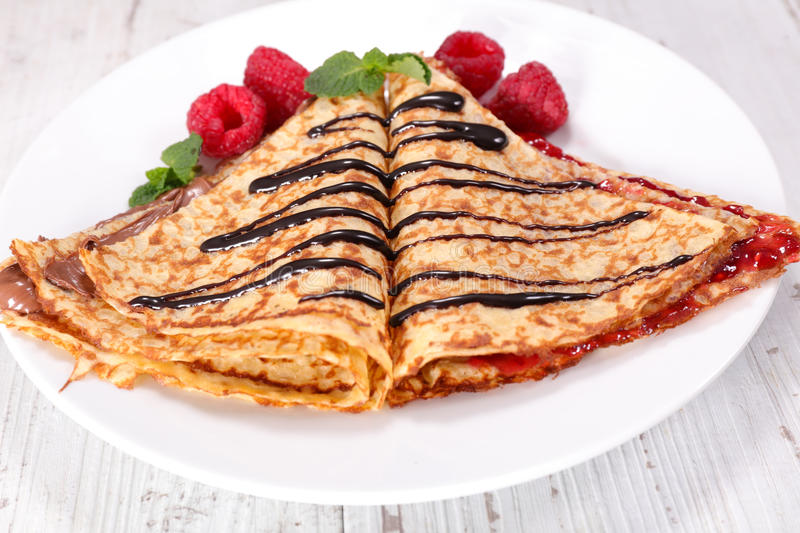 Crepe royalty free stock photography