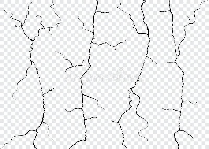 Crepe della parete isolate royalty illustrazione gratis