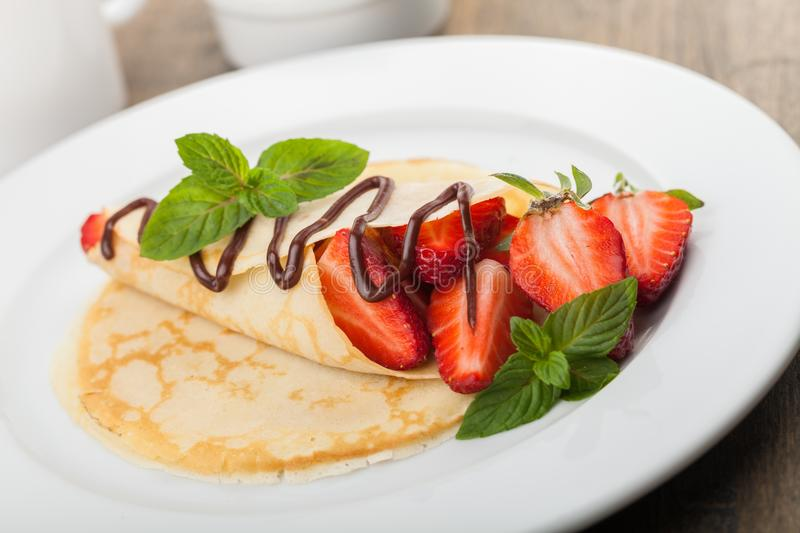 Crepe royalty free stock photos