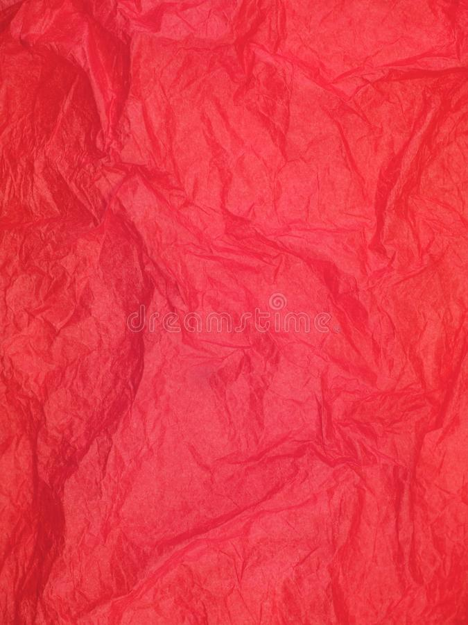 Crepe Paper. A close up shot of crepe paper royalty free stock photo