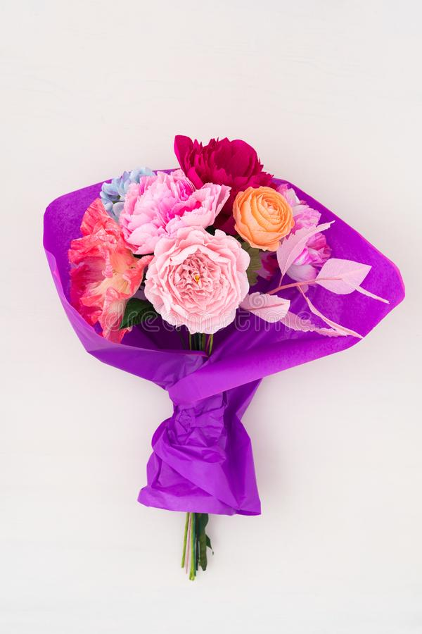 Crepe paper flower bouquet stock image image of hobby 111616113 download crepe paper flower bouquet stock image image of hobby 111616113 mightylinksfo