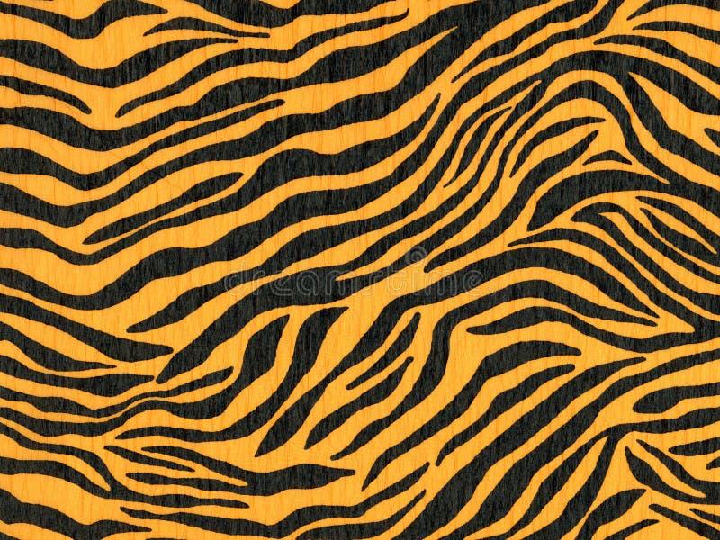 Crepe paper that has a leopard or jaguar pattern for wallpaper or backgrounds stock illustration