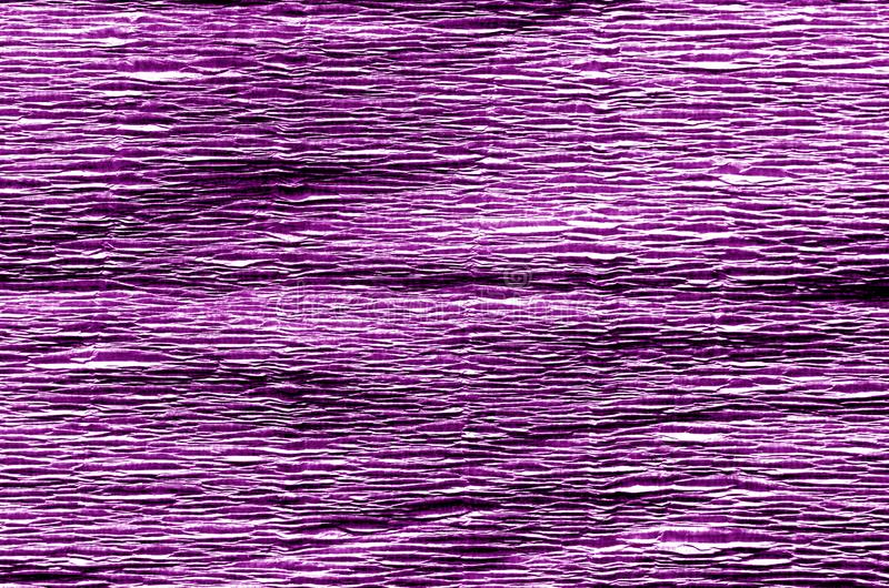 Crepe paper in purple color. royalty free stock photos