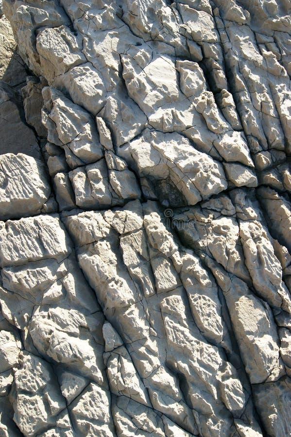 Crepe in rocce grige fotografia stock