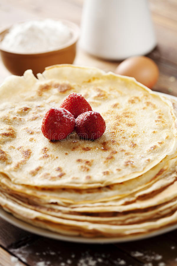Crepes royalty free stock images