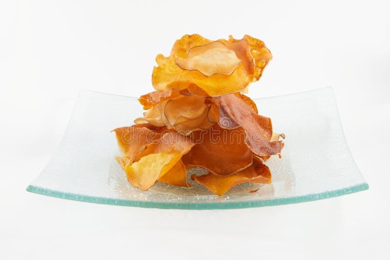 Crepes della dolce-patata fotografia stock libera da diritti