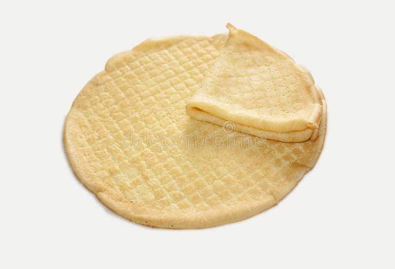 Crepes o pancake immagine stock libera da diritti