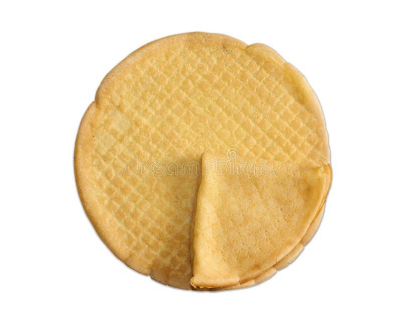 Crepes o pancake fotografie stock