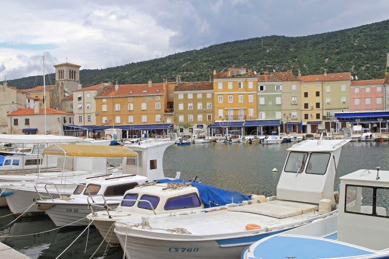 Cres Kroatien royaltyfria foton