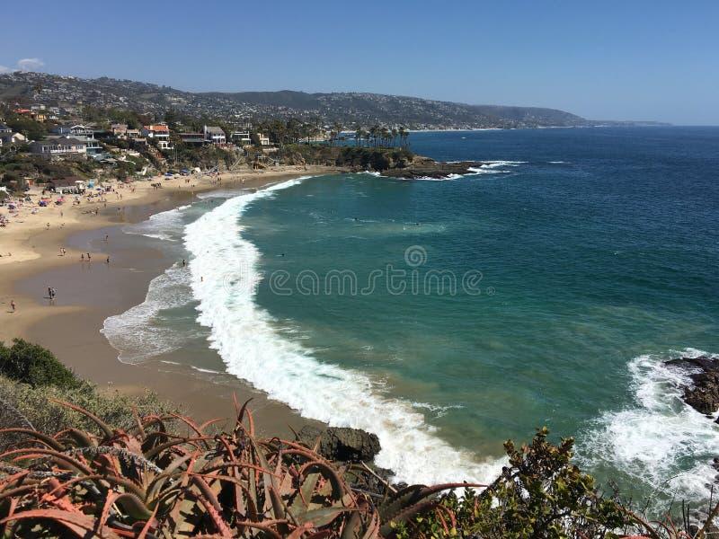 Crescent Bay, Laguna Beach Kalifornien stockfoto