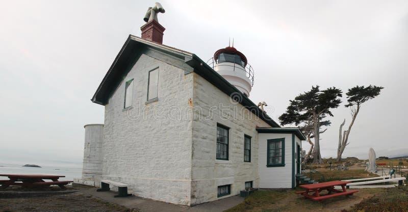 Crescent City Lighthouse royalty-vrije stock afbeeldingen