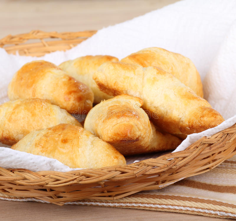 Crescent Rolls royalty free stock photography