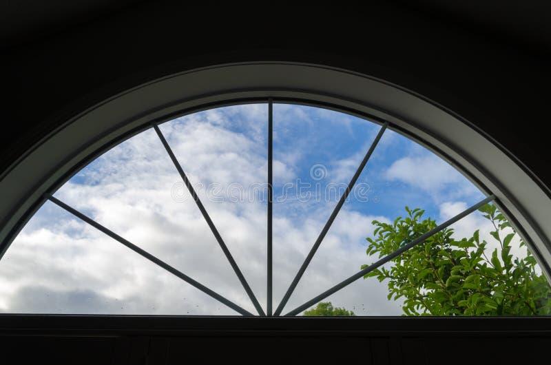 Crescent Window photographie stock libre de droits