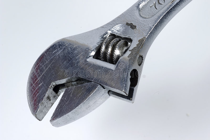 Download Crescent Wrench 2 stock image. Image of repair, bolt, build - 16399