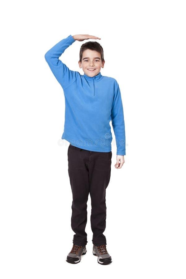 Crescimento da criança imagem de stock royalty free