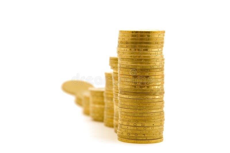 Crescimento Do Capital. 2 Isolados Imagens De Stock Grátis