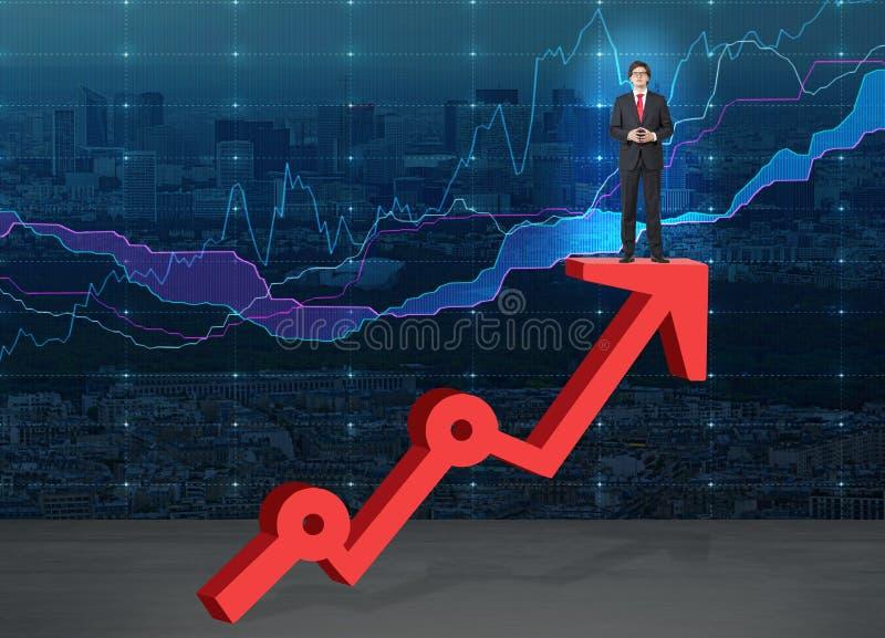 Crescita di carriera illustrazione di stock