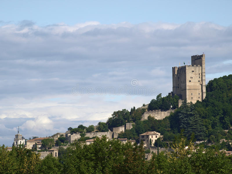 Download Crest stock image. Image of france, city, drome, travel - 13275169