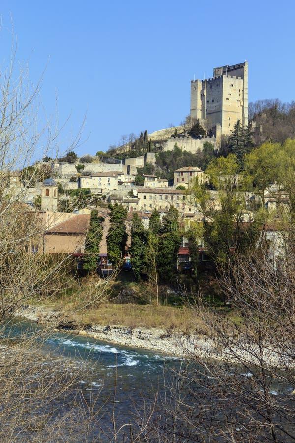CREST, Frankrijk. royalty-vrije stock foto's