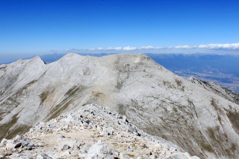 Cresta della montagna fotografia stock libera da diritti