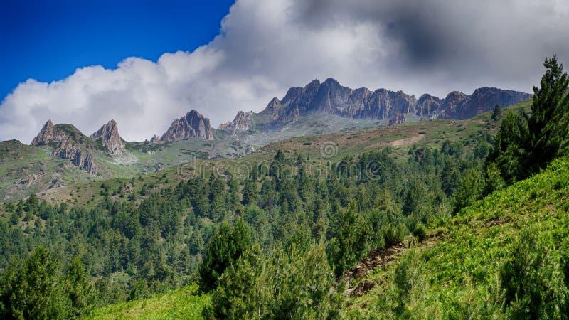 Creste della montagna immagini stock libere da diritti