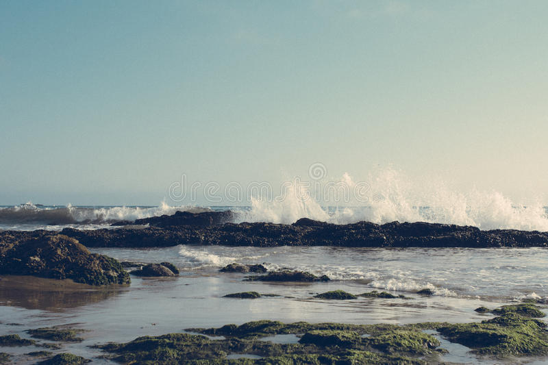 Cresting Waves stock images