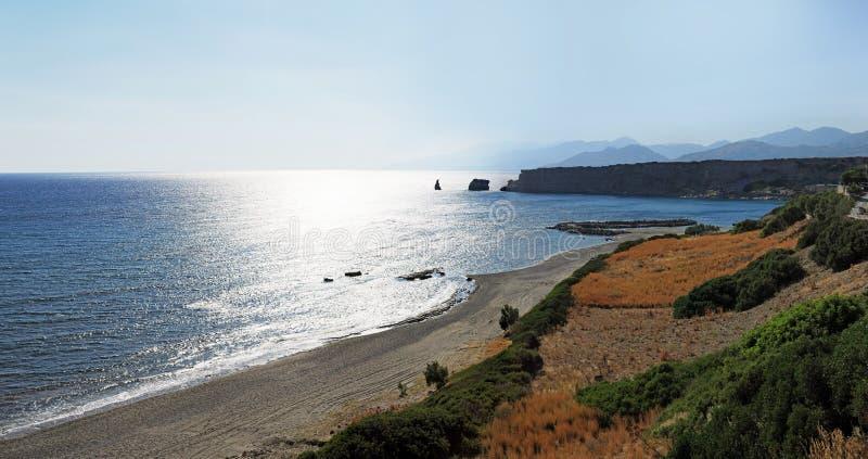 Cretan panorama zdjęcie stock