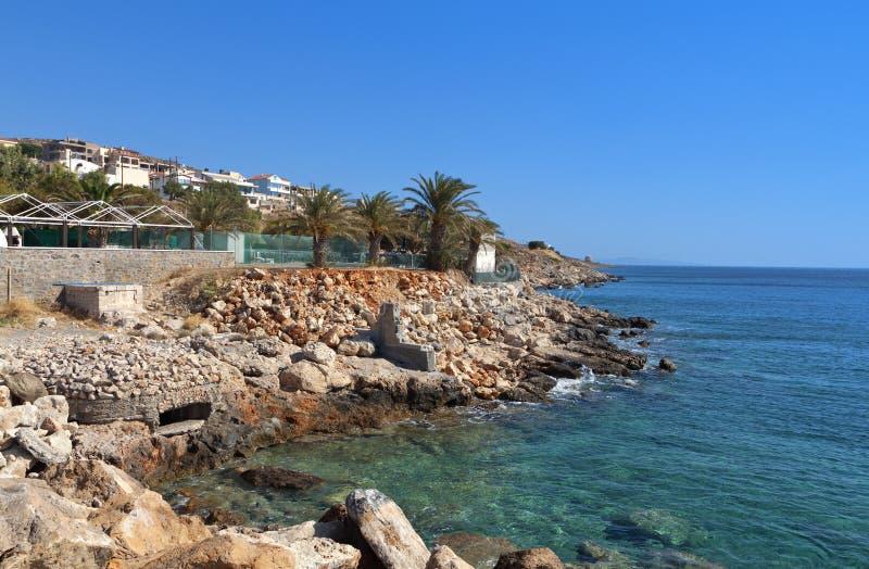 Crete ö i Grekland royaltyfria foton