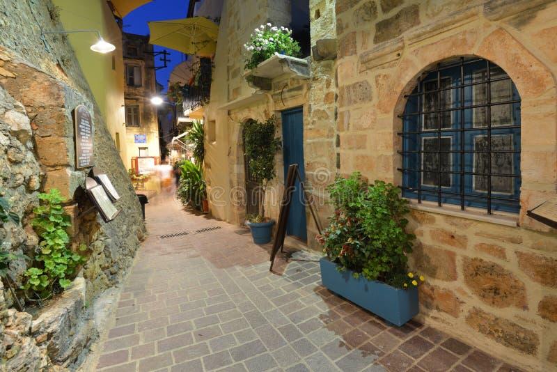 Crete, Chania zdjęcia royalty free