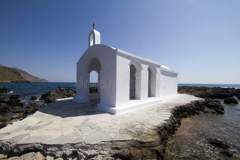 Crete church stock photo