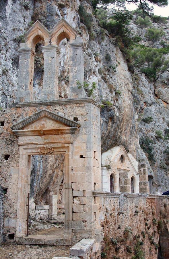 crete gouverneto wyspy monaster zdjęcie stock