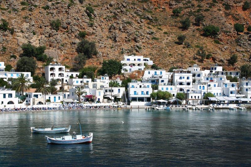 Crete / Loutro stock photos