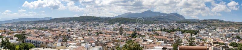 Crete miasteczko Rethymno obraz royalty free