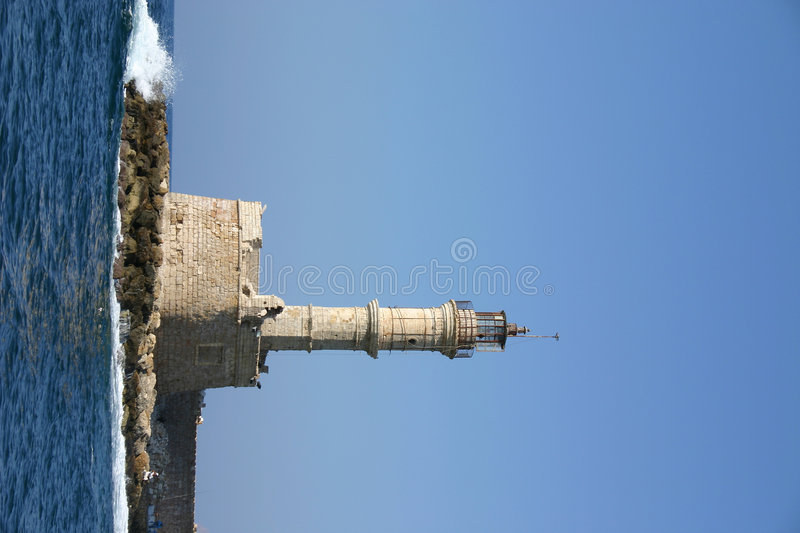 Download Crete / Old Lighthouse In Chania Stock Image - Image: 142469